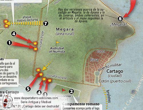 batalla del puerto de Cartago