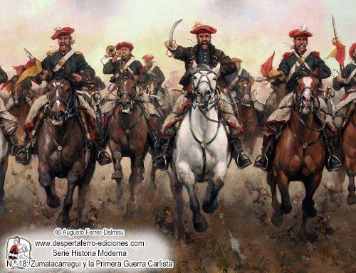 DFM18-4, La guerra en el norte 1833-1835