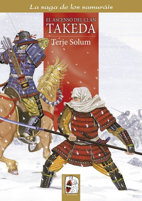 Portada Ascenso clan Takeda - Saga Samuráis 1