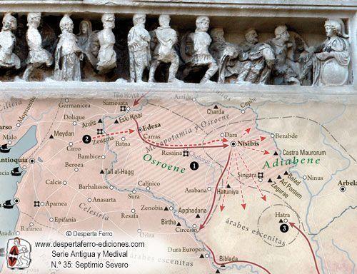 campaña de Mesopotamia Septimio Severo