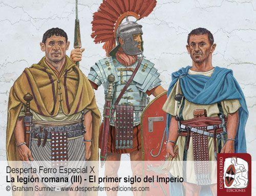 atavío militar romano