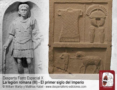 Profesionales y bregados legión romana