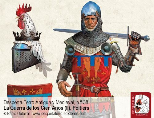 Poitiers 1356. Tácticas de caballería en el siglo XIV