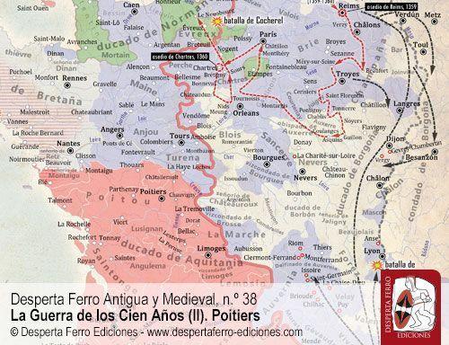 Poitiers 1356. La última campaña de Eduardo III. Hacia Reims y París (1359-1360)