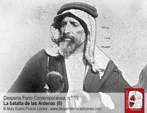 Auda abu Tayi revuelta árabe 1916 Lawrence de Arabia