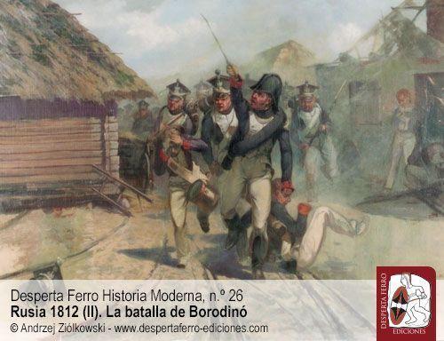 Borodinó. Los combates por Utitsa