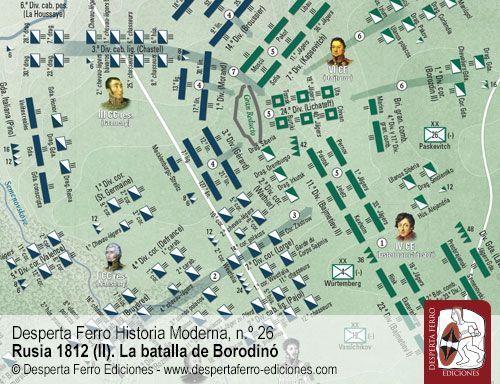 Borodinó. El segundo ataque al Gran Reducto