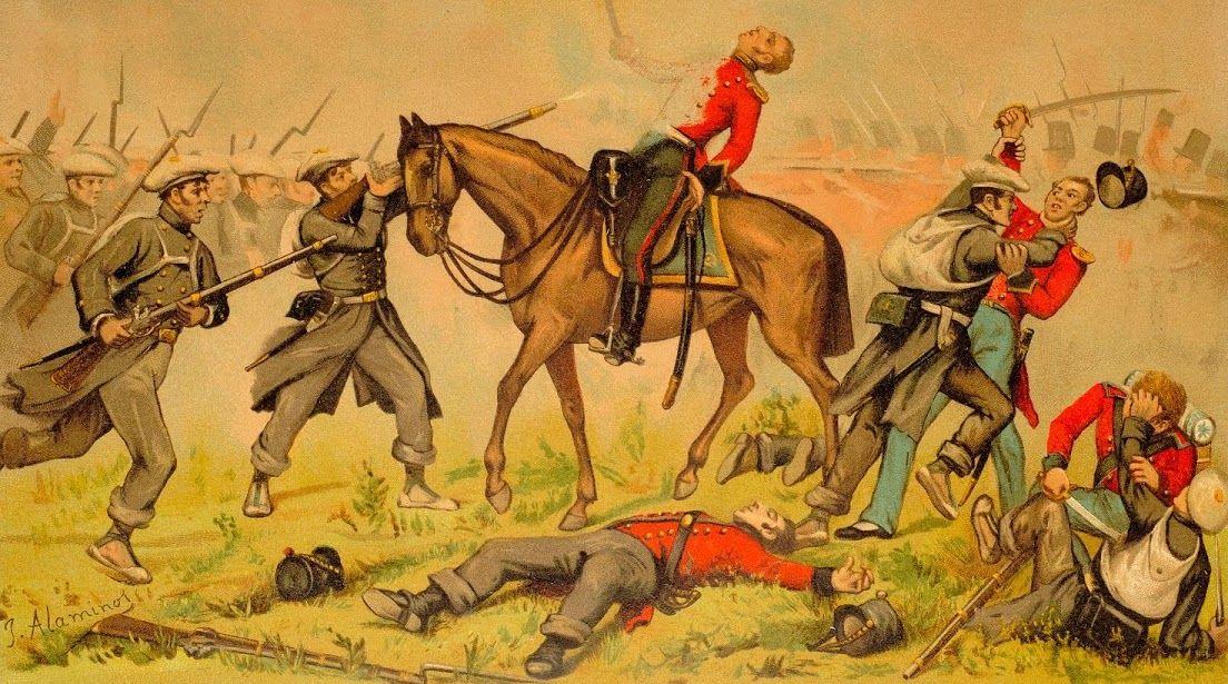 batalla de oriamendi