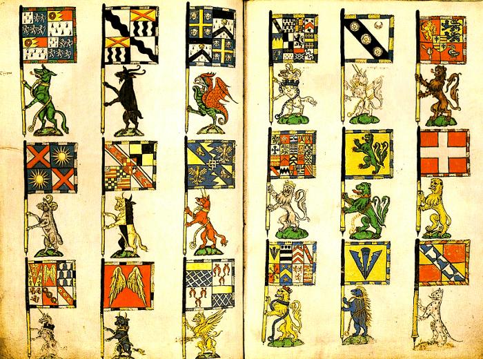 heráldica medieval
