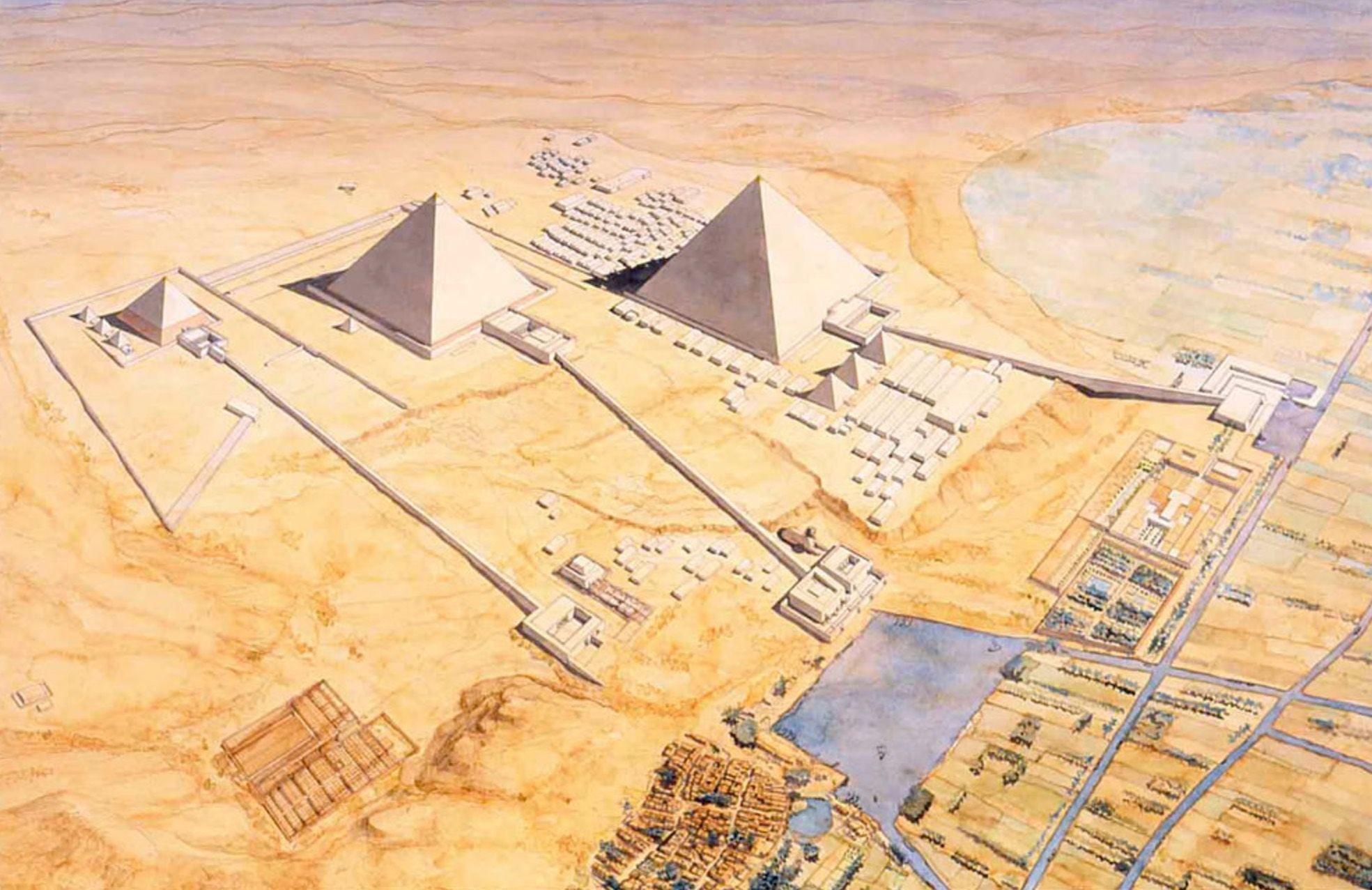 Pirámides Golvin Antiguo Egipto