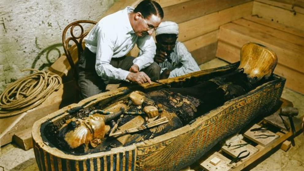 Howard Carter Tutankamón momias