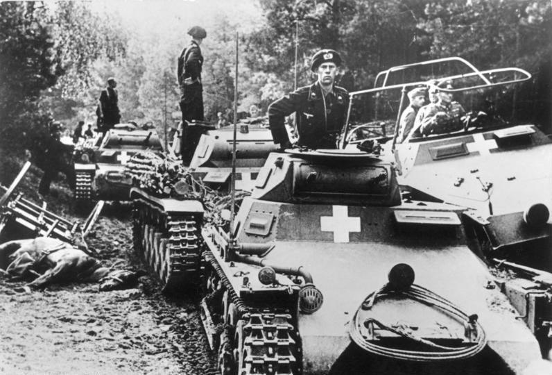 La Blitzkrieg y el inicio de la Segunda Guerra Mundial
