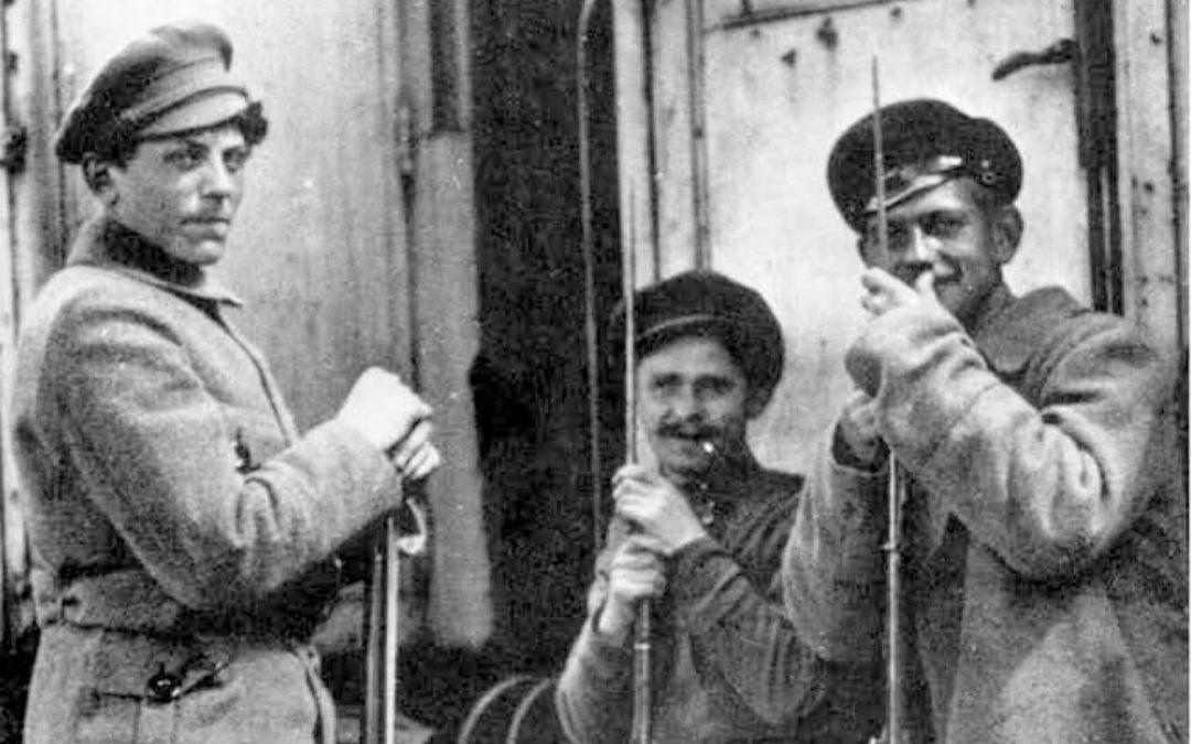 La Guardia Roja. El brazo armado de la Revolución rusa