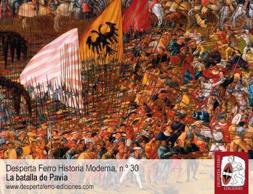 ejércitos batalla de Pavía