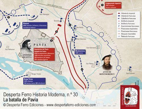 Leyva batalla de Pavía