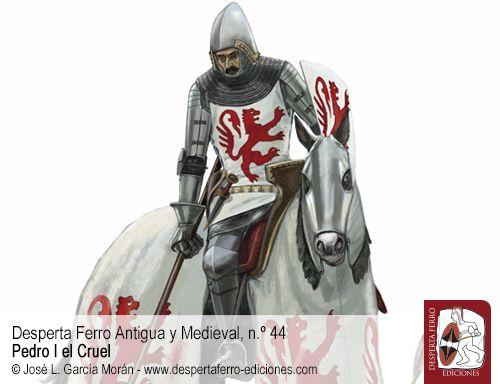 Pedro I el Cruel Mercenarios extranjeros y Grandes Compañías