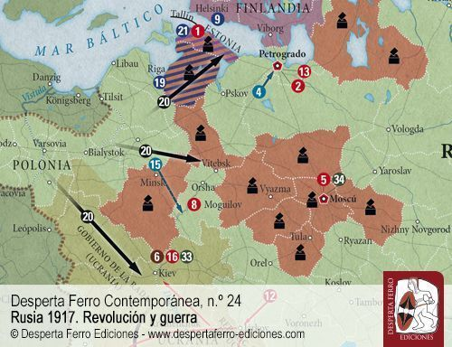 La marcha triunfal del poder soviético