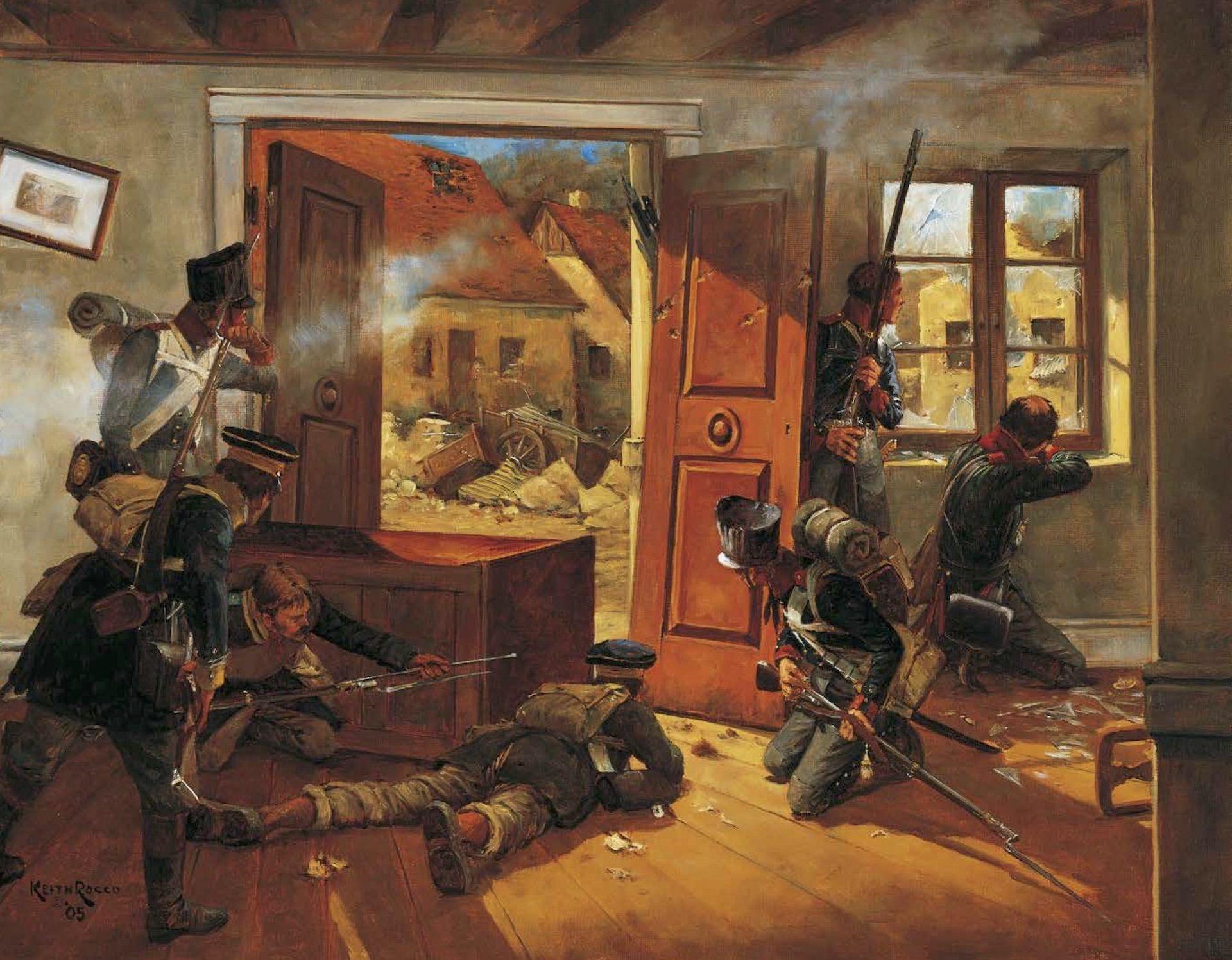 Batalla de Möckern Leipzig Campañas de Napoleón Keith Rocco