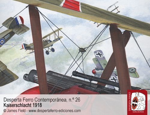 El triunfo de la aviación de combate por James S. Corum