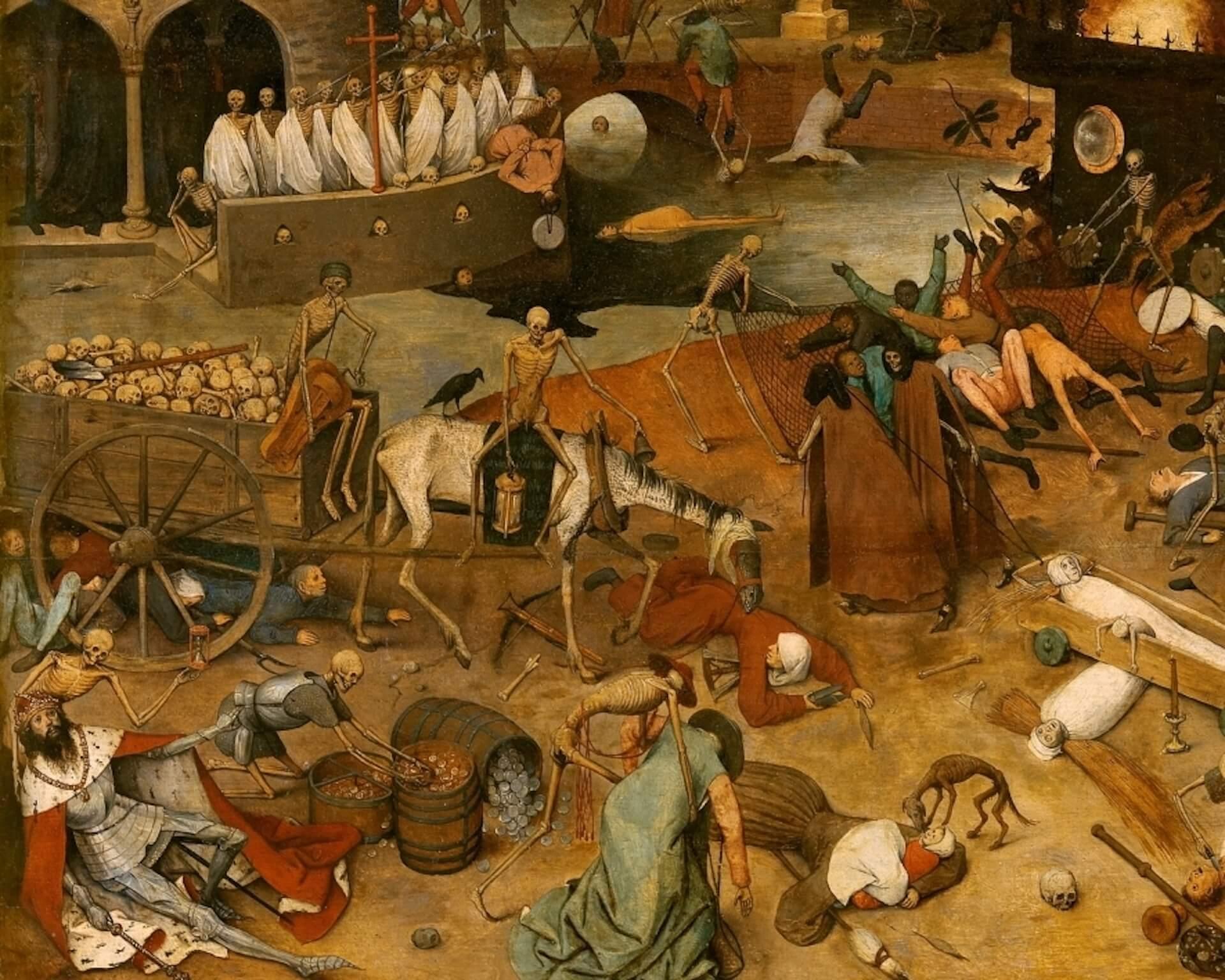 El triunfo de la muerte Bruegel el viejo