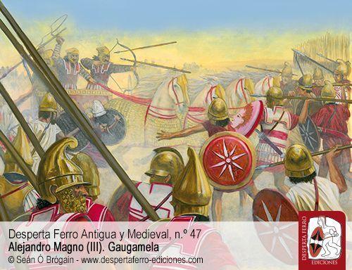 """La batalla de Gaugamela y el empleo de """"armas combinadas"""" por Graham Wrightson (South Dakota State University)."""
