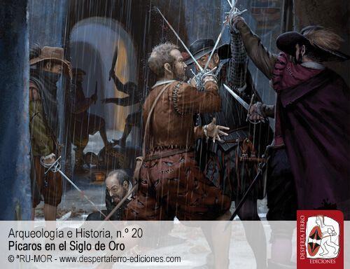Espadas a sueldo. Valentones y embozados en el Siglo de Oro español por Miguel Fernando Gómez Vozmediano (Universidad Carlos III)