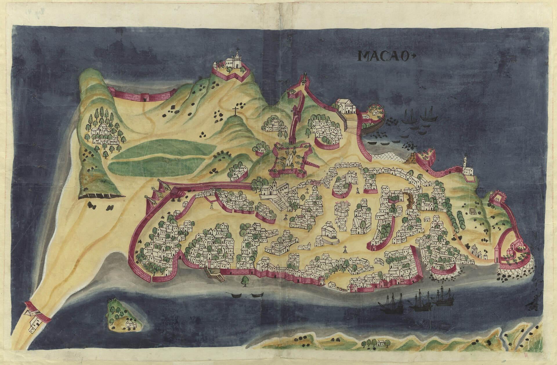 Macao siglo XVII