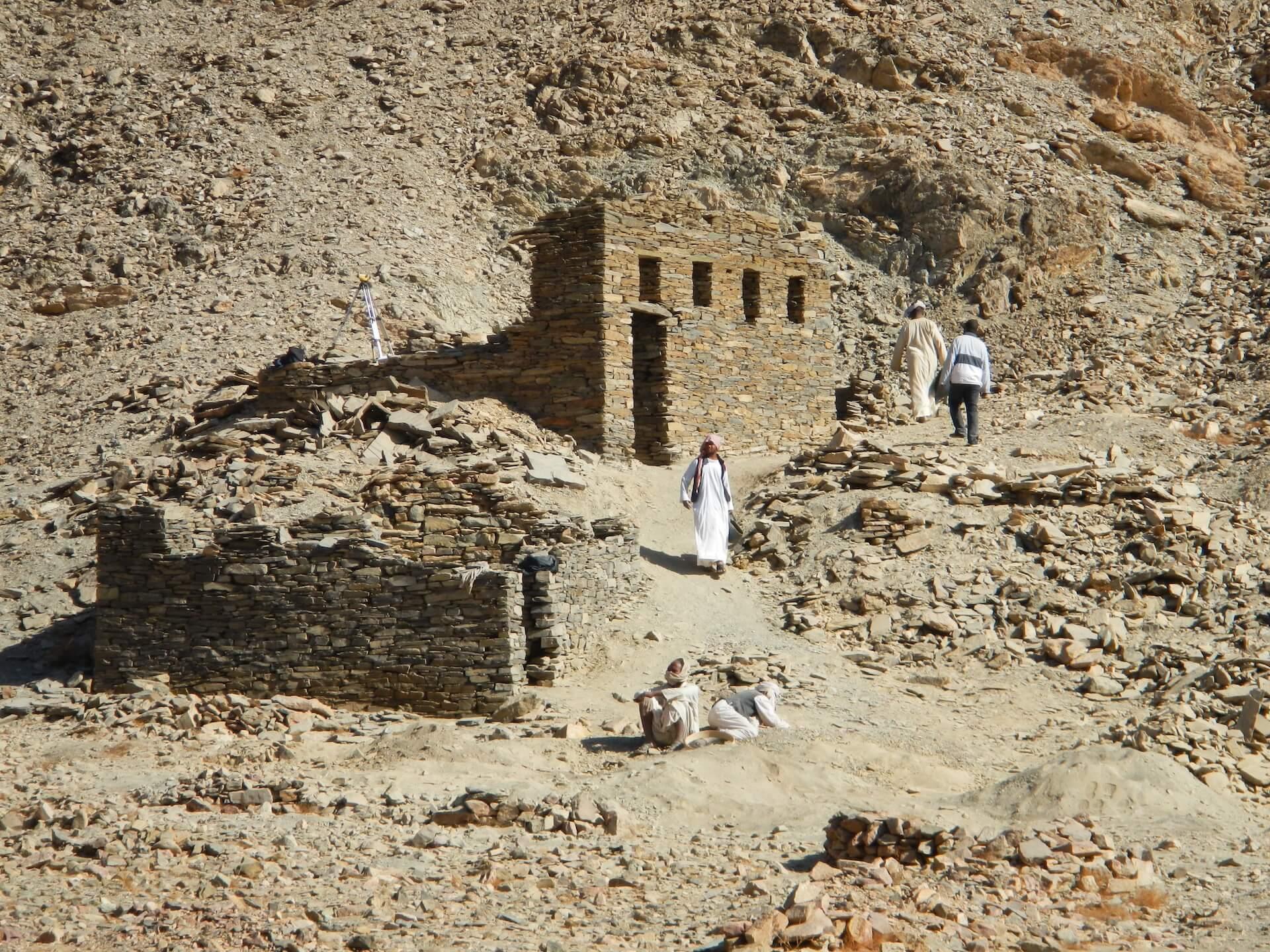 minas de esmeraldas en el Alto Egipto Sikait Project