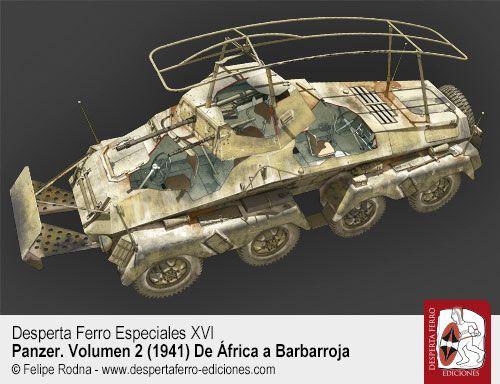 Panzerspähwagen El reconocimiento táctico alemán por Thomas Anderson