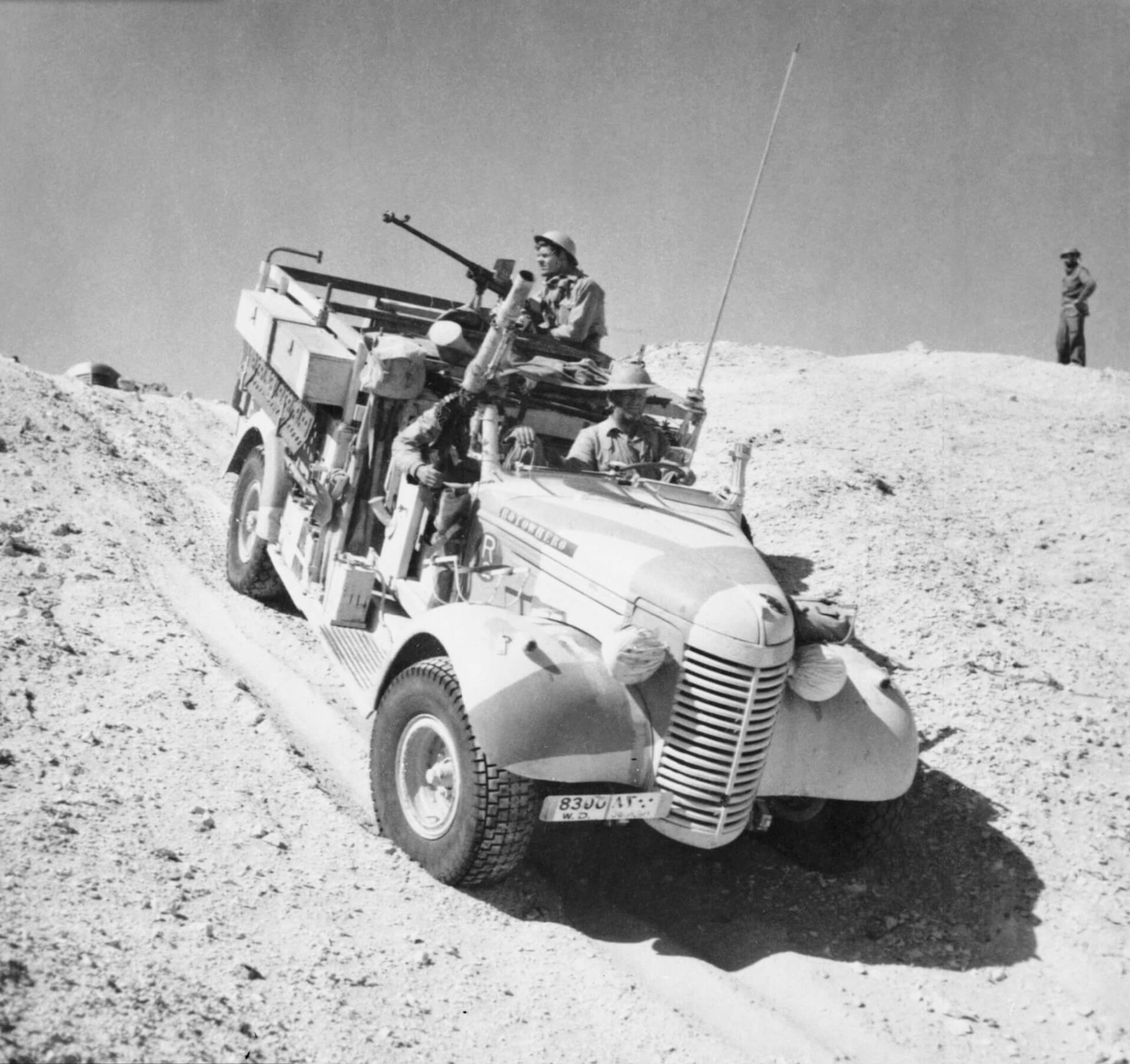 Long Range Desert Group LRDG