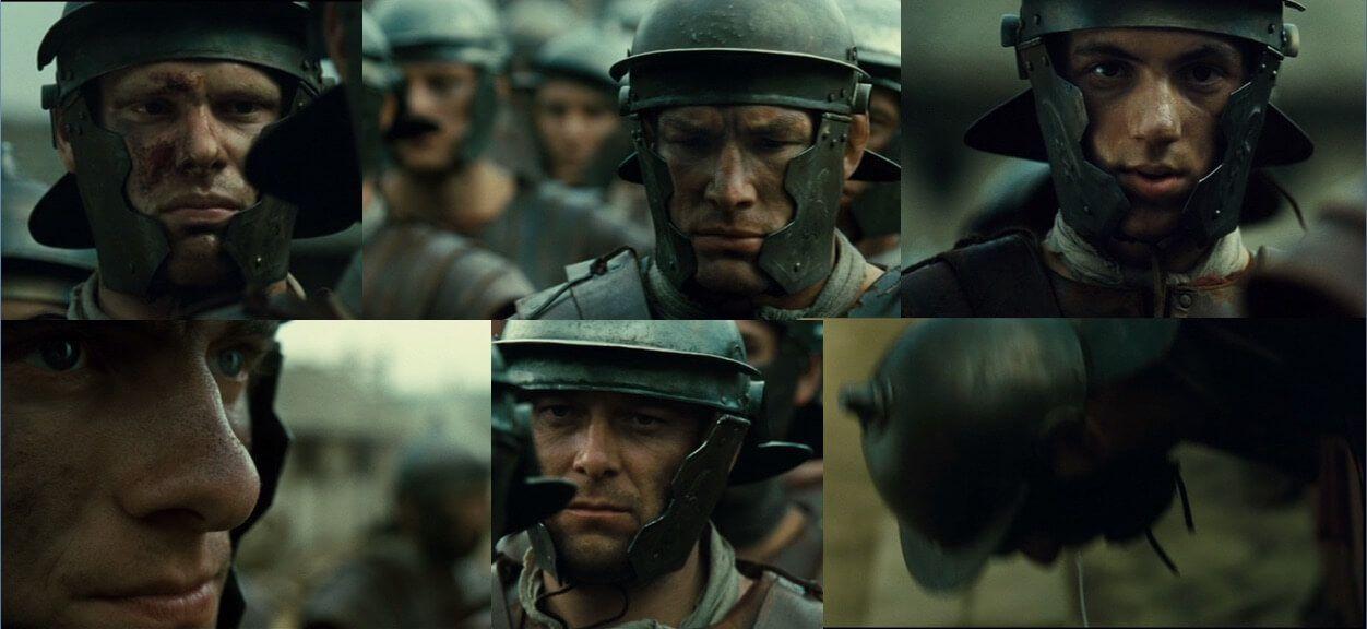 La legión del águila el rostro de la batalla romana en el cine