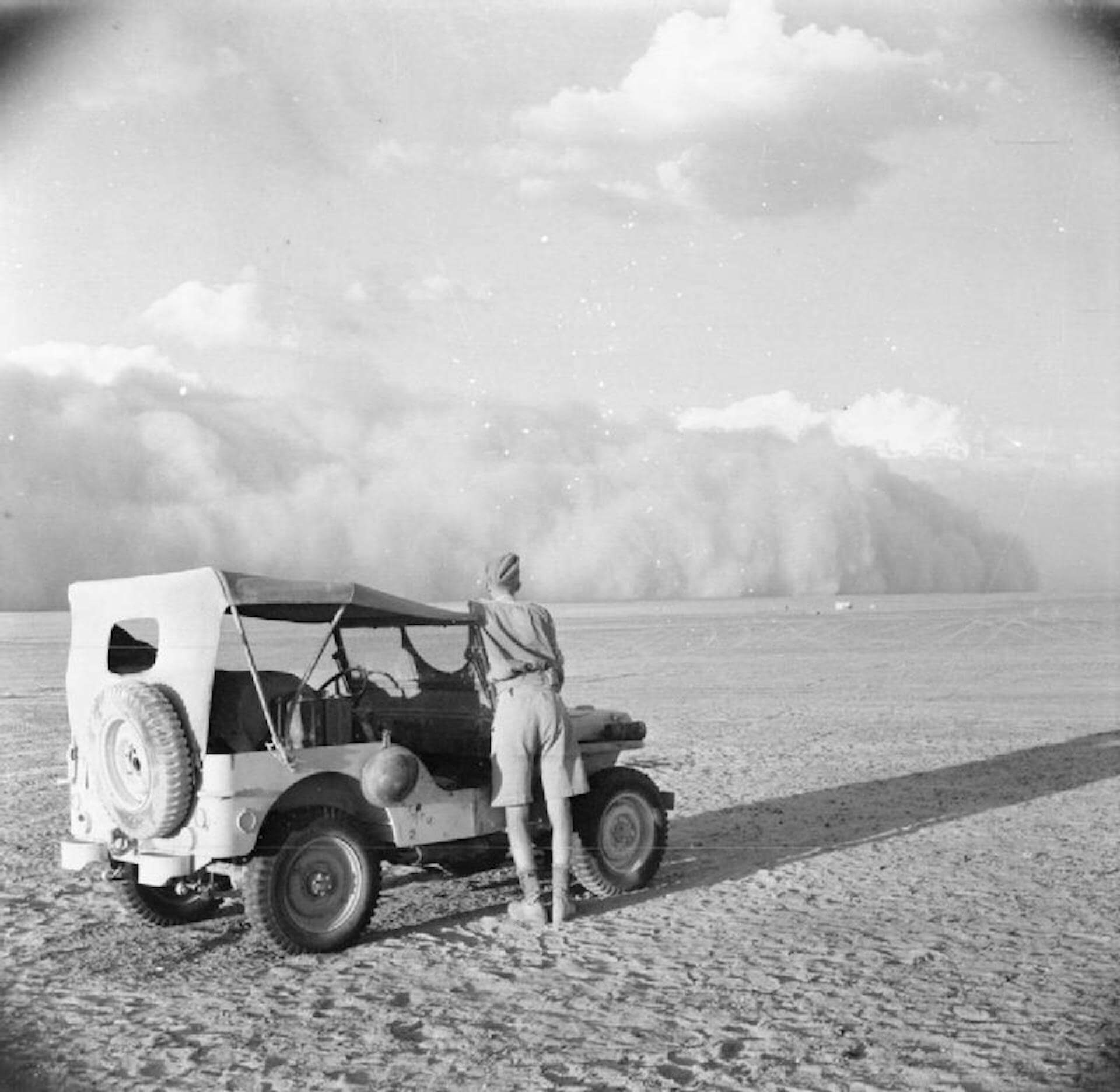 Long Range desert Group LRDG Octavo Ejército
