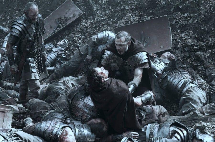 El rostro de la batalla romana Centurión