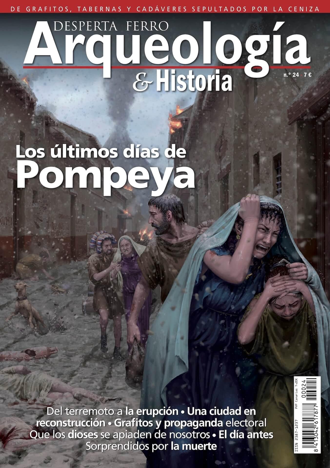 Arqueología e Historia Pompeya ilustración histórica ªRU-MOR