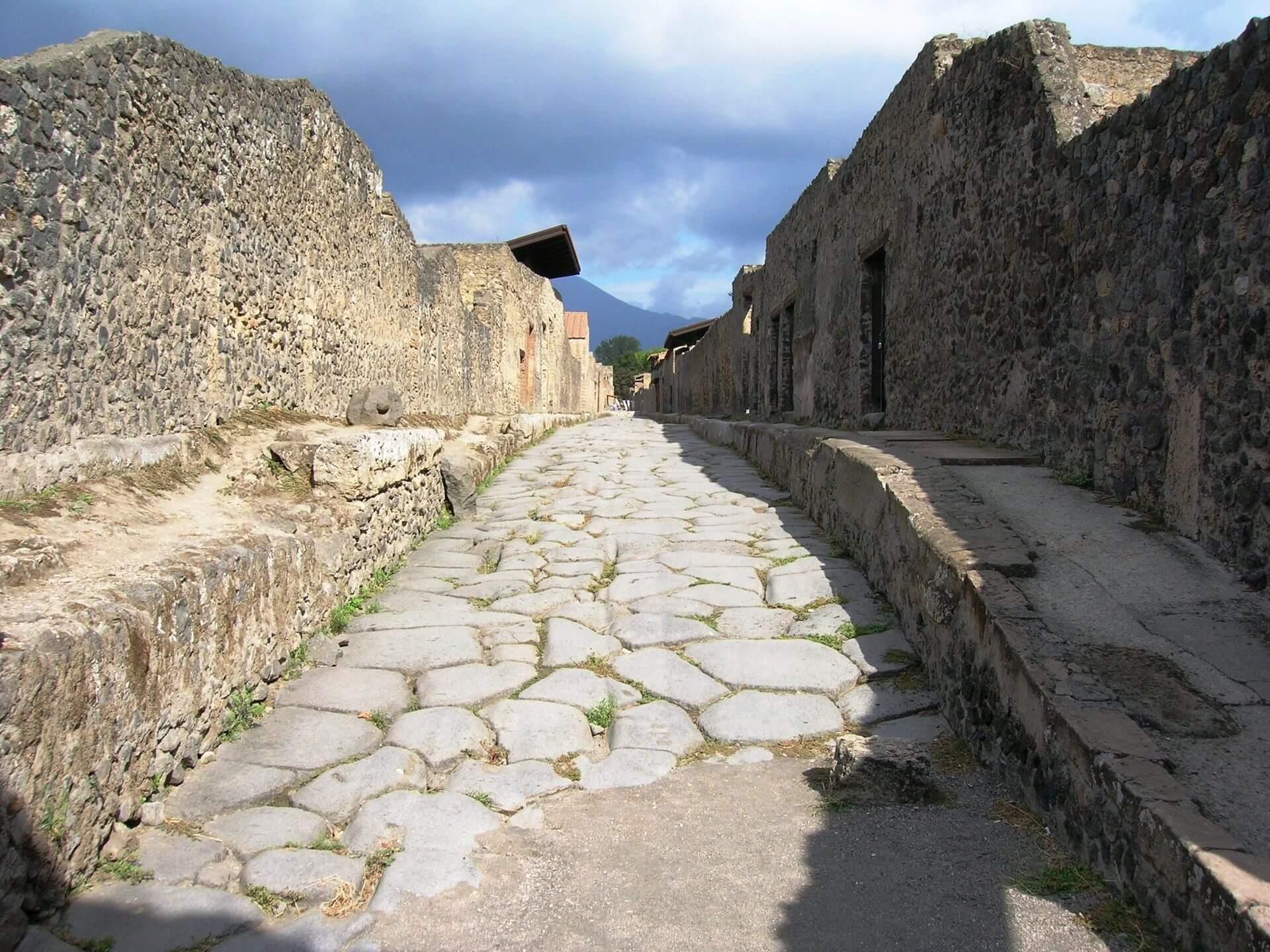 Vía Nocera Vesubio Pompeya