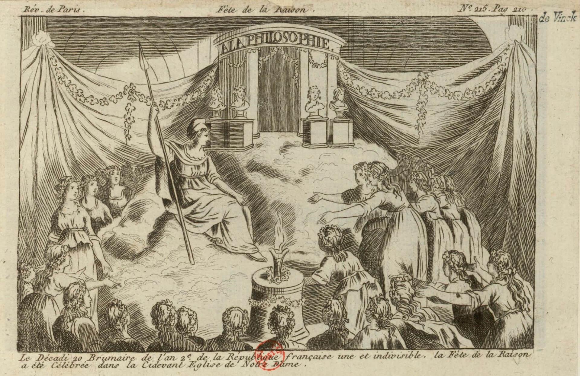 Fete de la Raison Notre-Dame
