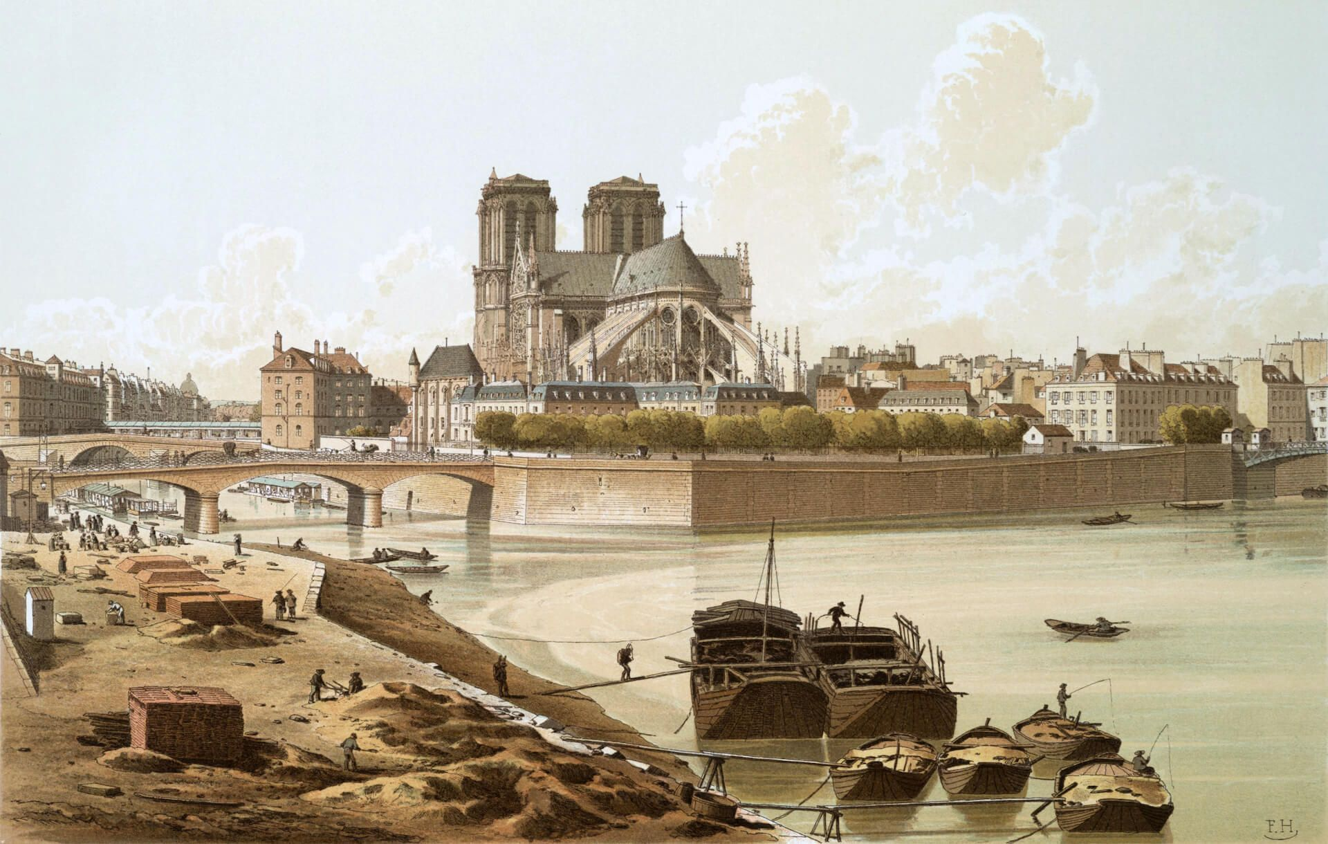 Notre-Dame 1830