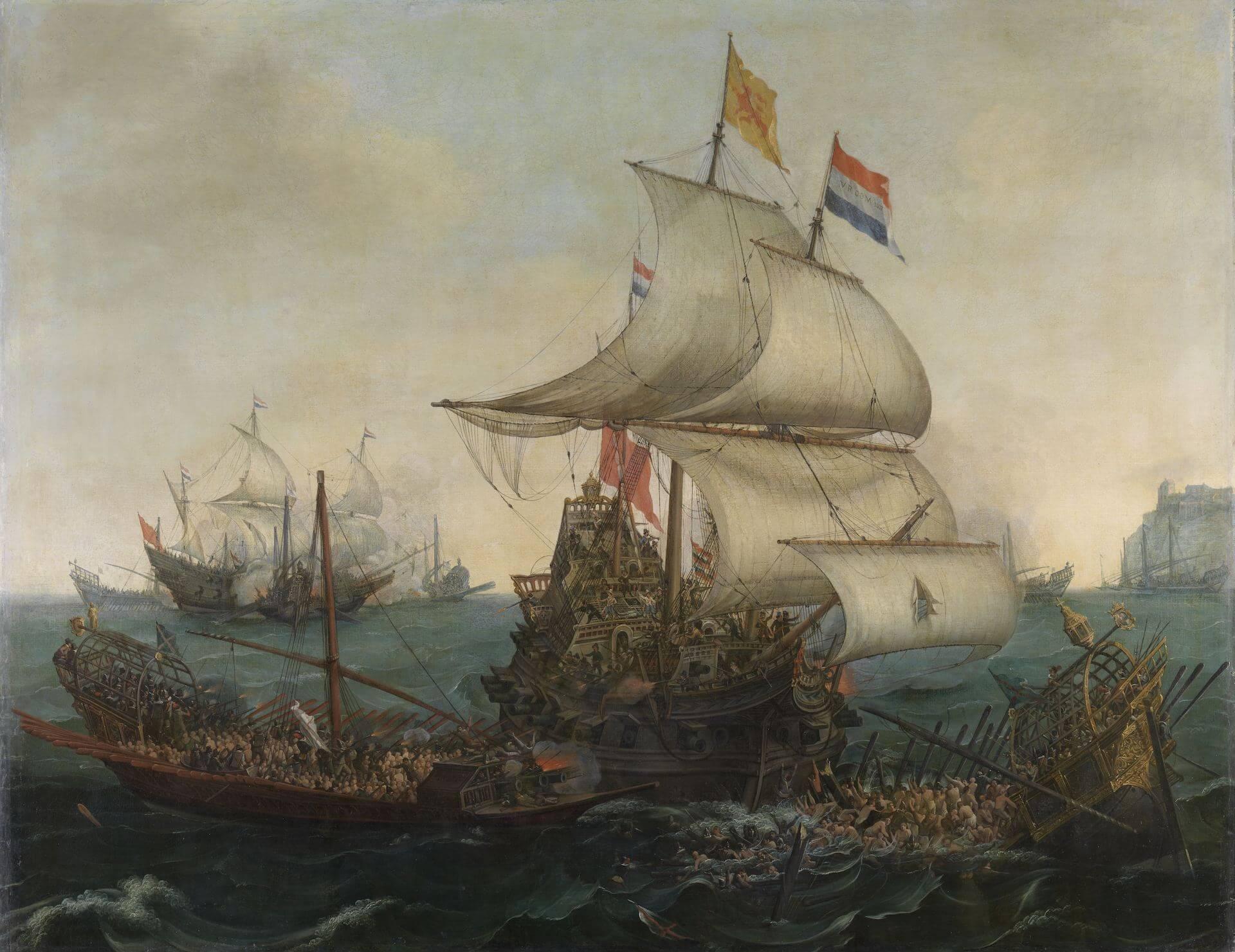 La hegemonía naval atlántica en la Guerra de los Ochenta Años