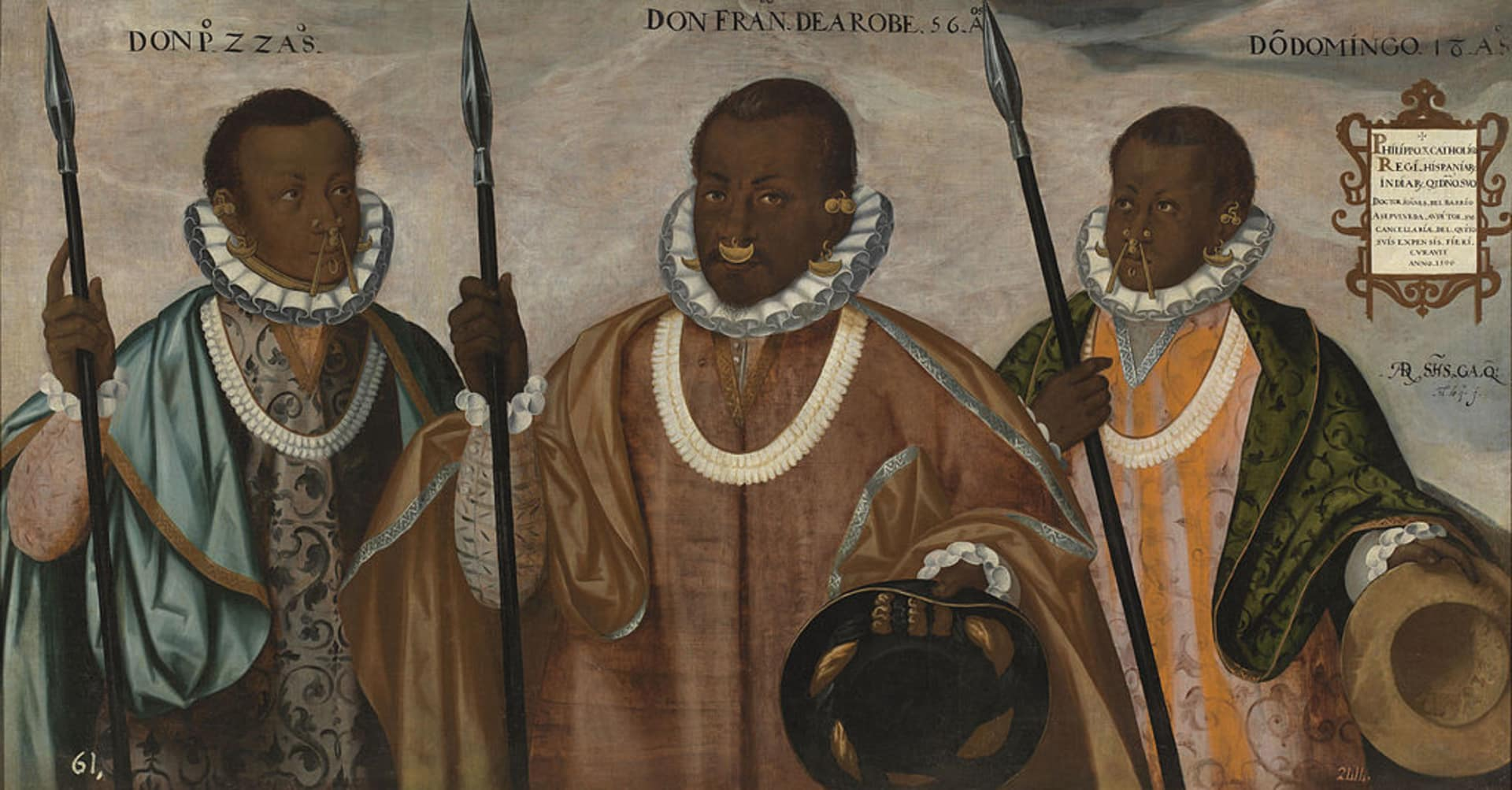 conquistadores negros