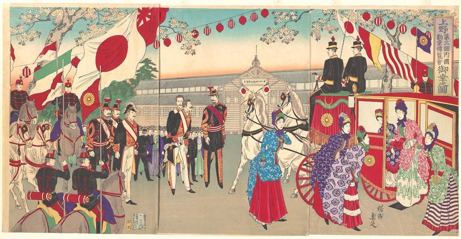 China y Japón como ejemplos contrapuestos de colisión con occidente en el siglo XIX