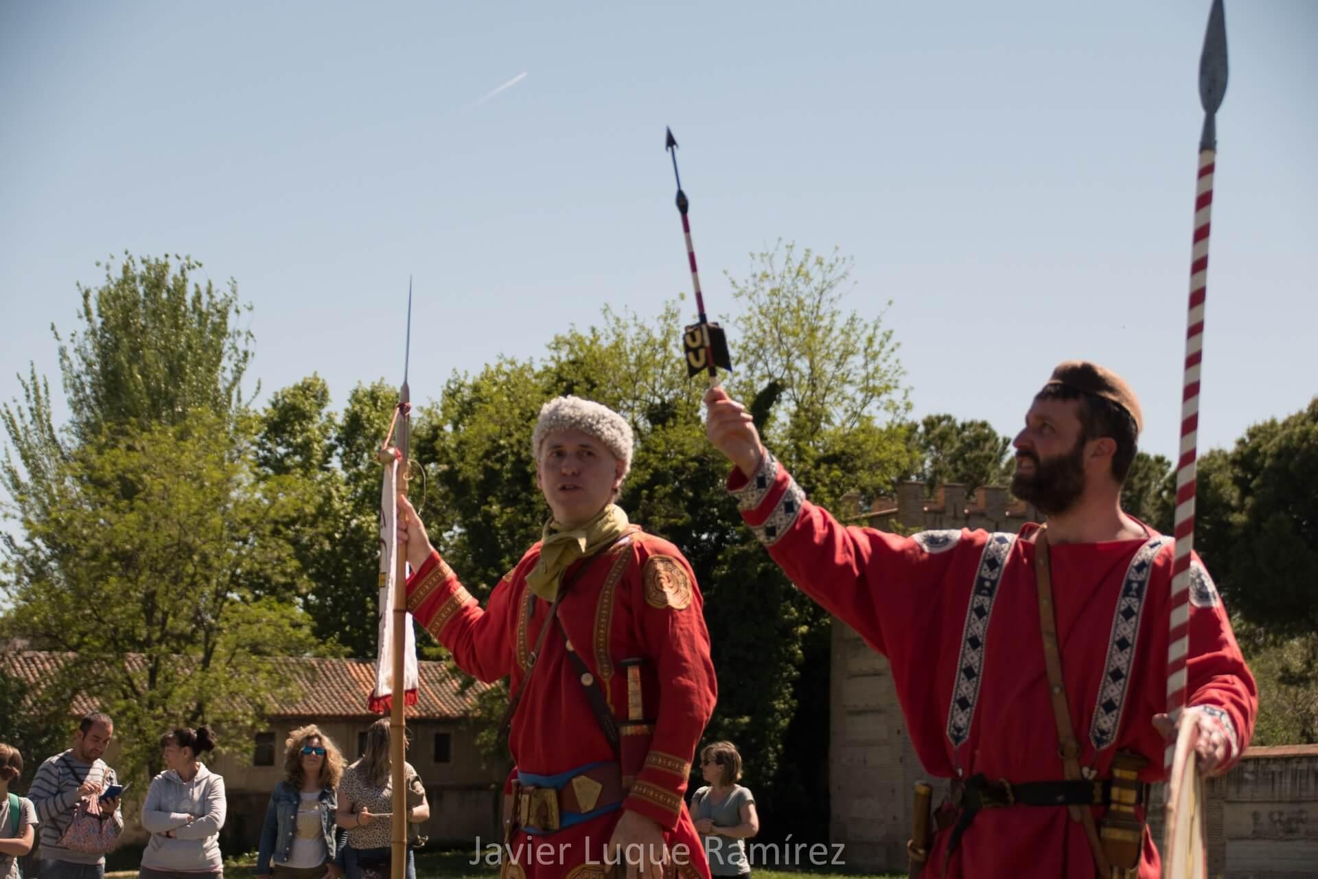 recreación histórica romana