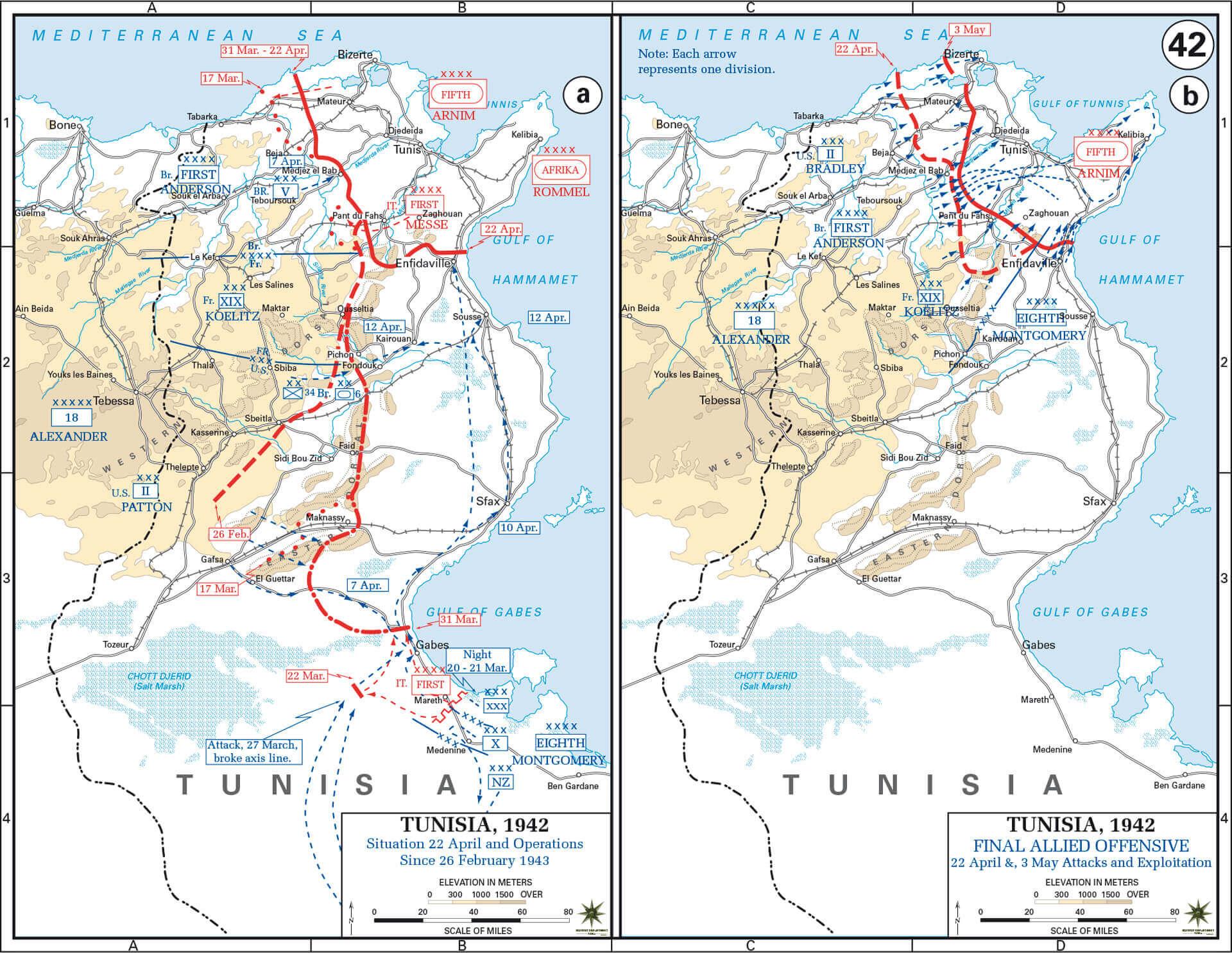 El camino hacia la victoria  La Segunda Guerra Mundial en el