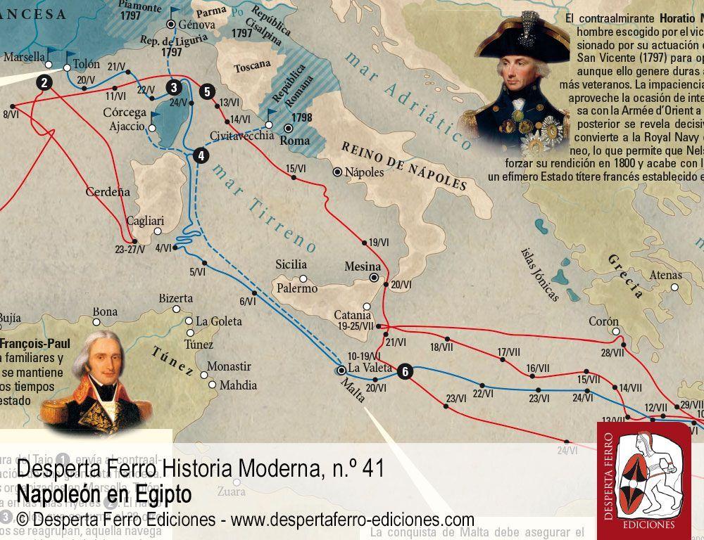 La campaña naval y la batalla de Abukir por Michèle Battesti – Université Paris-Sorbonne