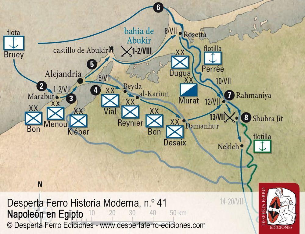 La marcha sobre El Cairo y la batalla de las Pirámides por Oleg Sokolov – Sankt Peterburgski Gosudarstvenny Universitet