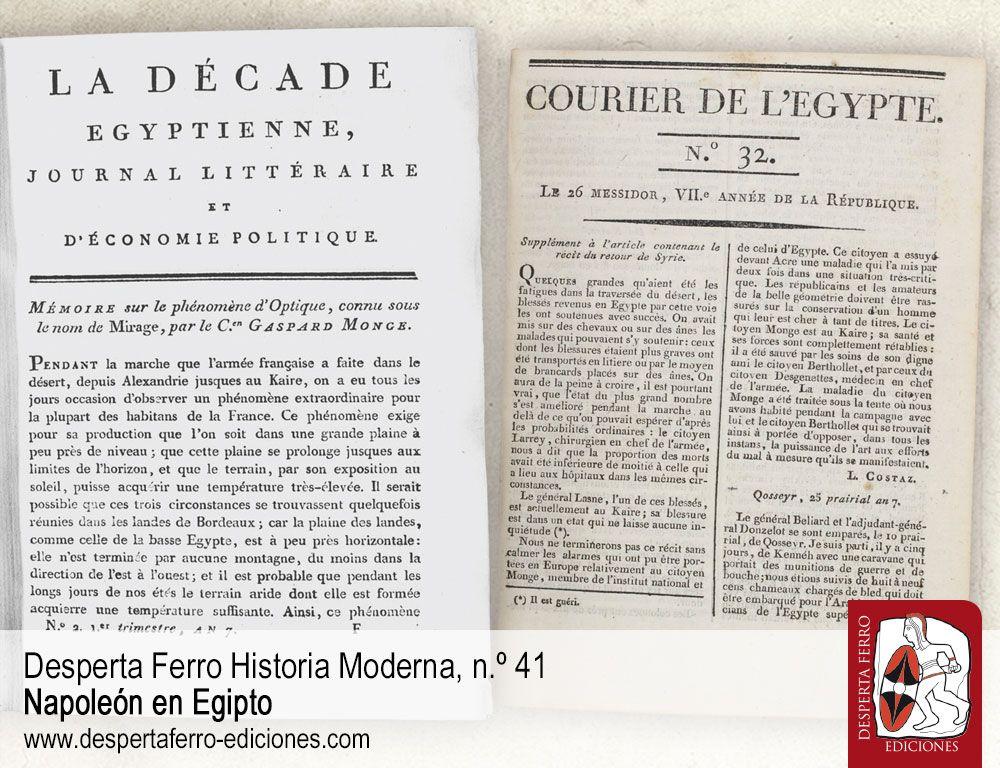 La propaganda y los periódicos egipcios de Napoleón Bonaparte por Wayne Hanley – West Chester University