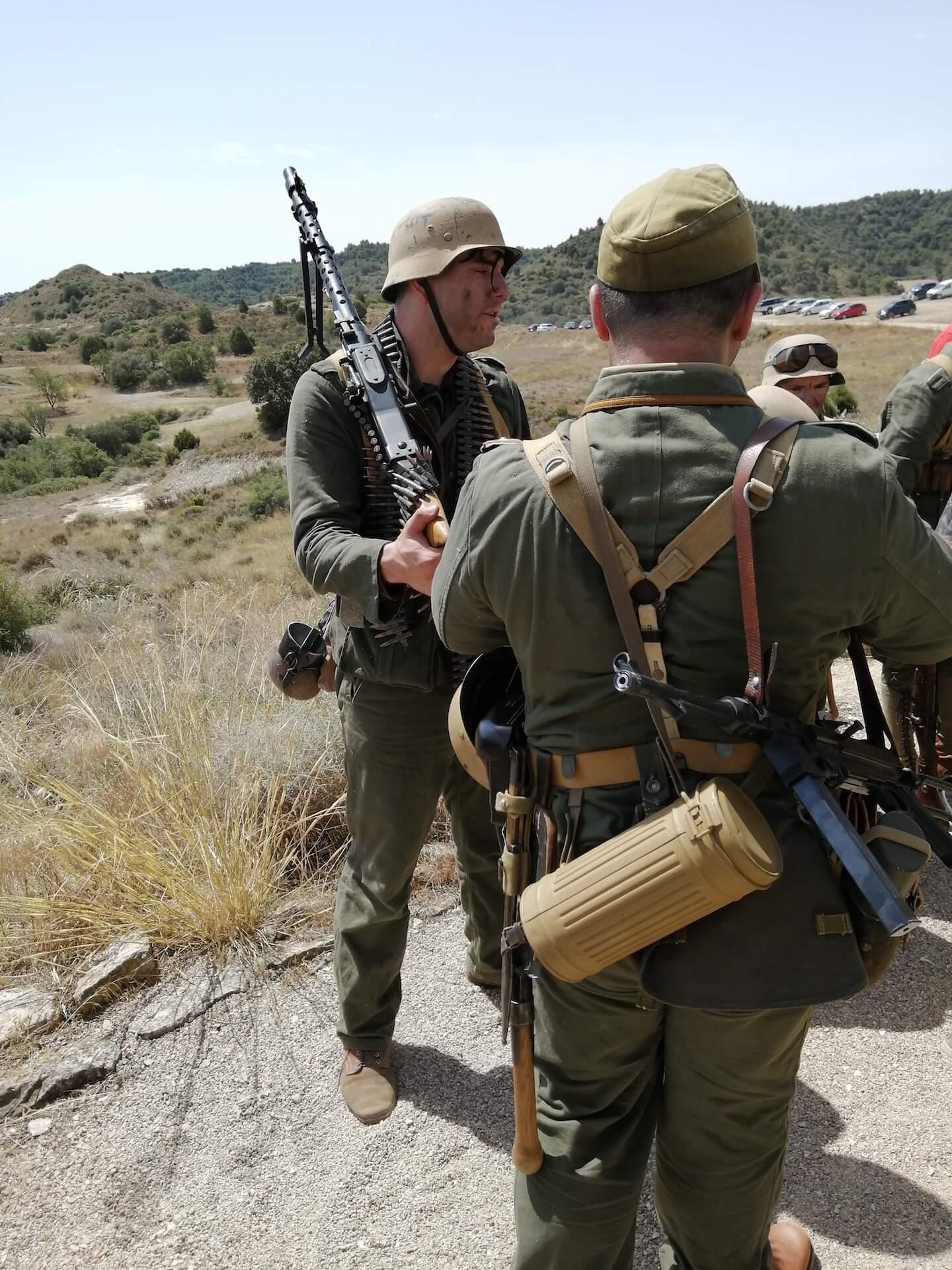 Alcubierre. Recreación histórica de la II Guerra Mundial en el norte de África