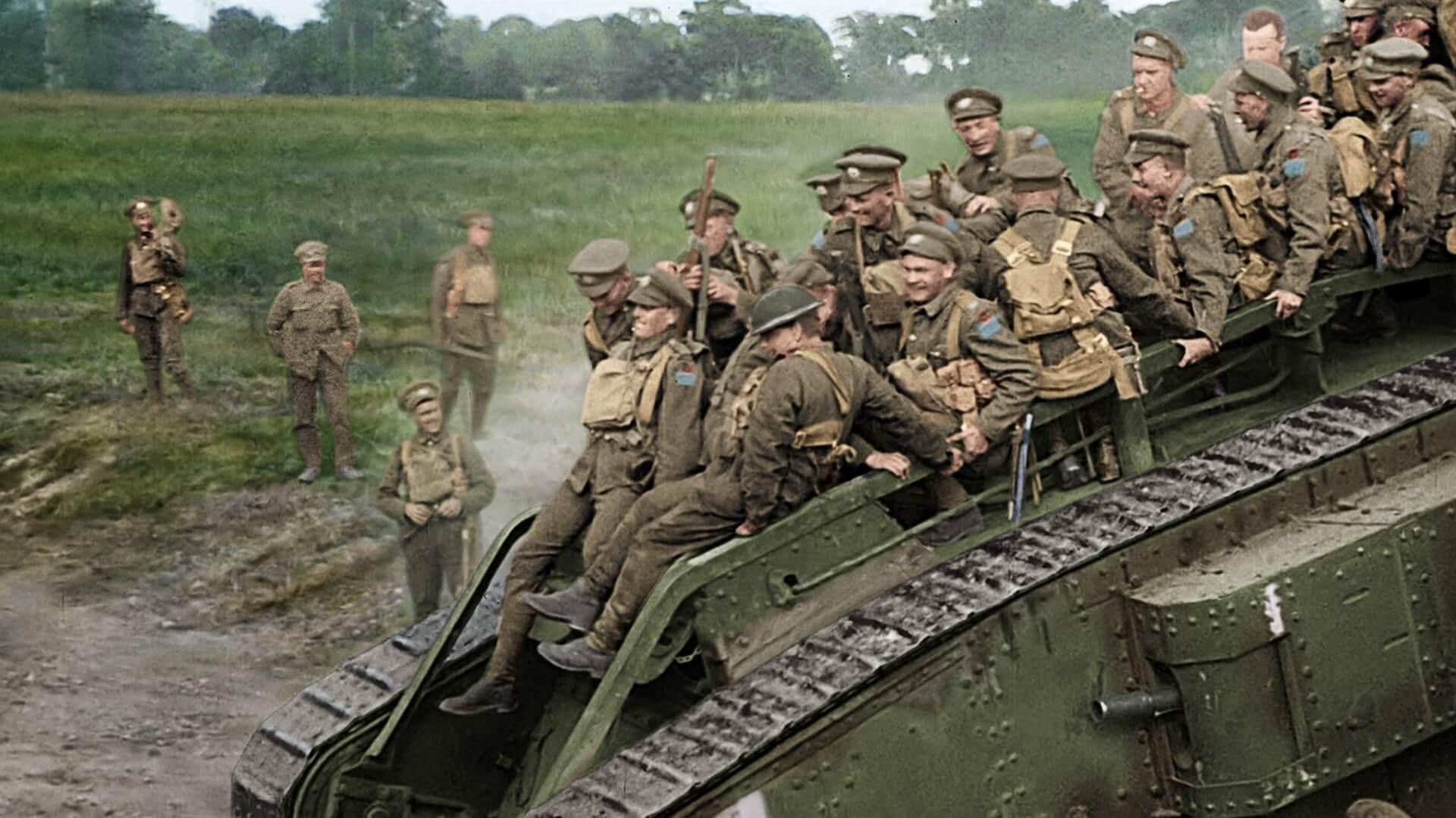 I Guerra Mundial tanques