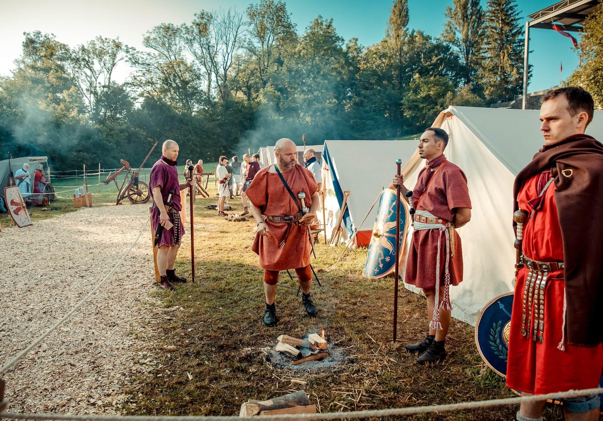 Augusta Raurica 2019 recreación histórica romana