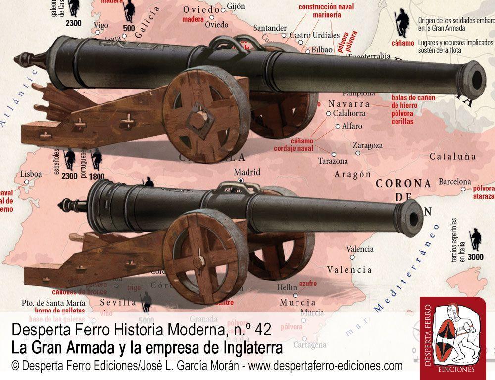Organización y abastecimiento de la Gran Armada por Luis Parejo Fernández – Fundación Casa de Medina Sidonia