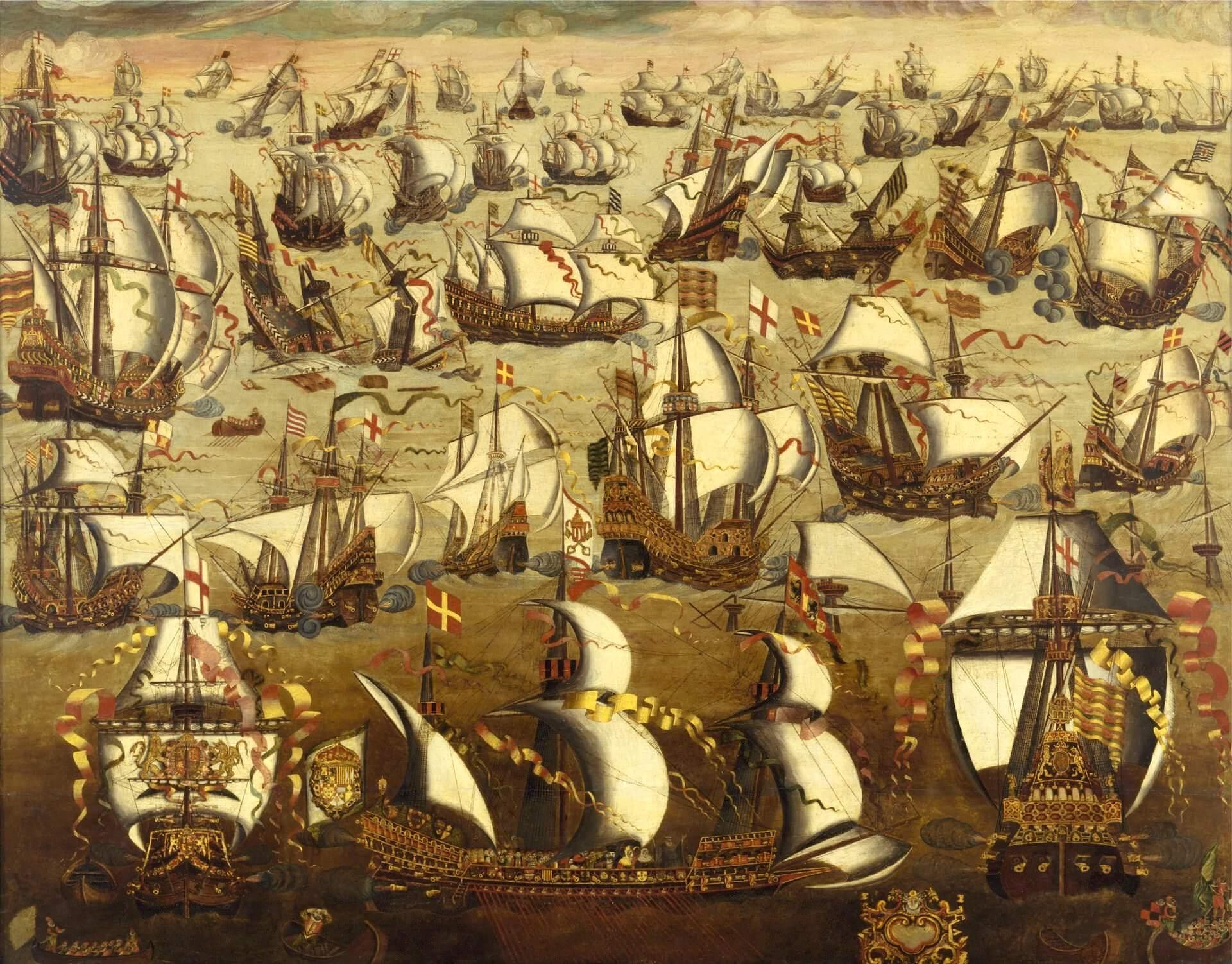 Gran Armada Invencible Inglaterra